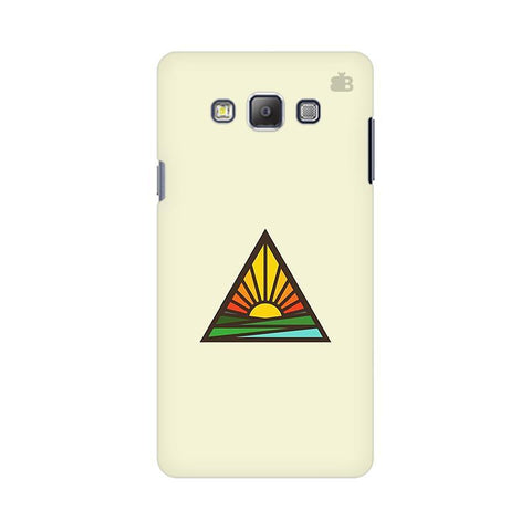 Triangular Sun Samsung On 5 Cover