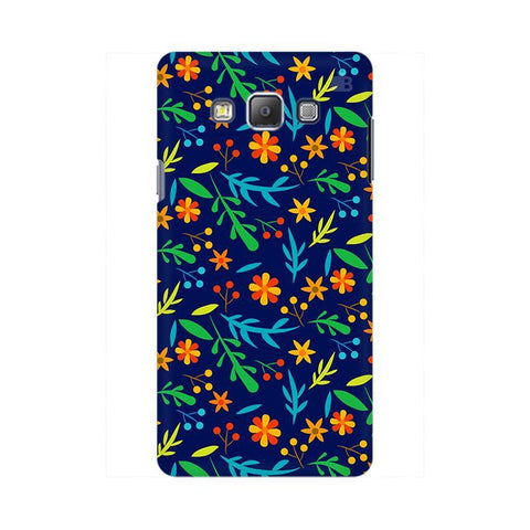 Vibrant Floral Pattern Samsung On 5 Cover