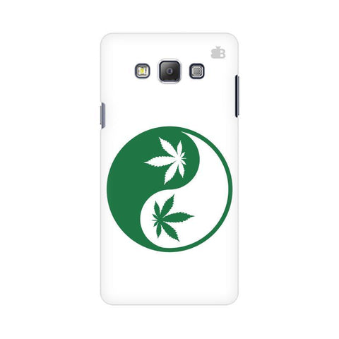Weed Yin Yang Samsung On 5 Cover