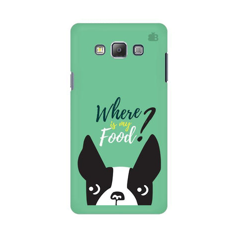 Where is my Food Samsung On 5 Cover