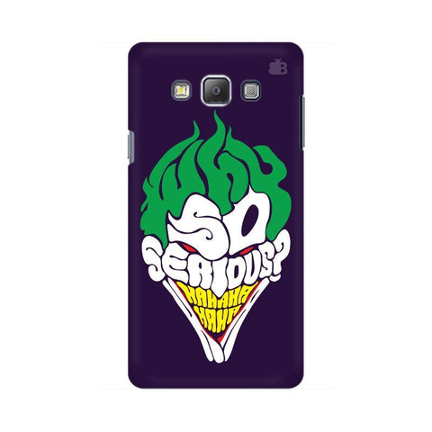 Why So Serious Samsung On 5 Cover