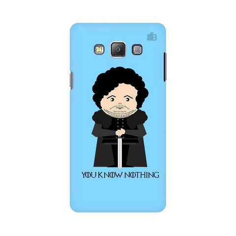 You Know Nothing Samsung On 5 Cover
