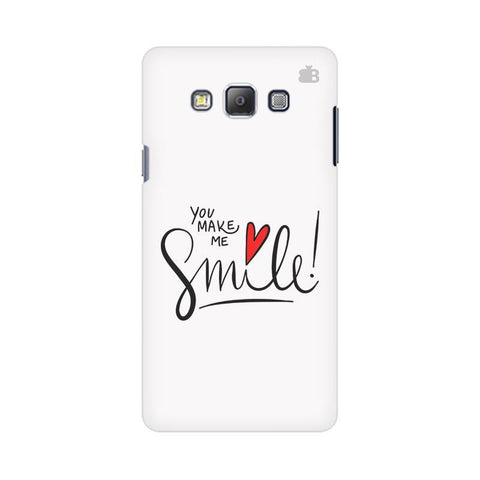 You make me Smile Samsung On 5 Cover