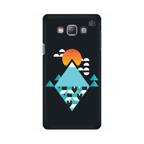Abstract Mountains Samsung On 7  Pro Cover
