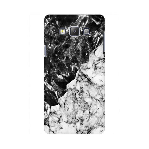 Black White Marble Samsung On 7  Pro Cover