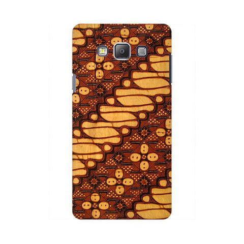 Brown Batik Samsung On 7  Pro Cover