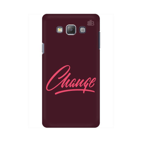 Change Samsung On 7  Pro Cover