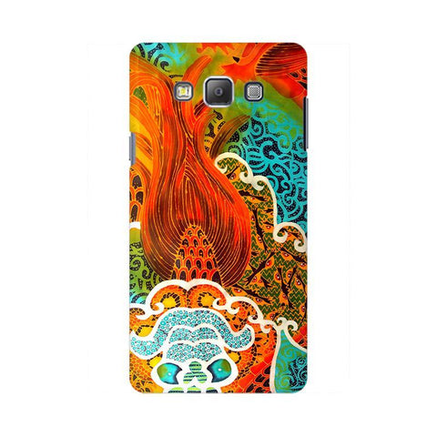Colorful Batik Art Samsung On 7  Pro Cover