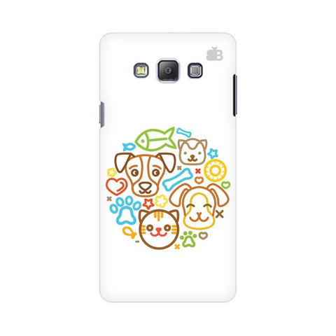 Cute Pets Samsung On 7  Pro Cover