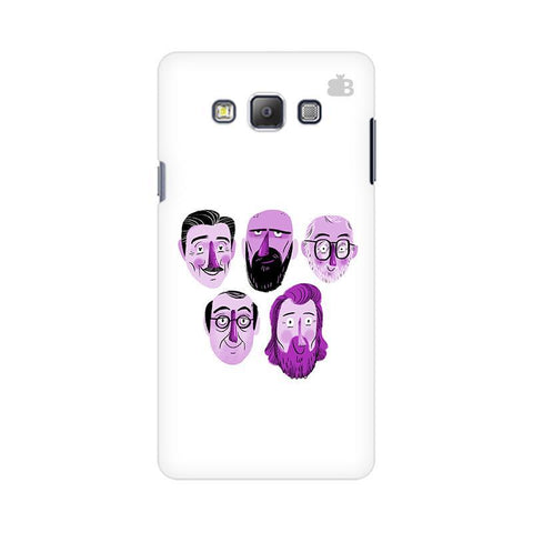 5 Bearded Faces Samsung On 7 Cover