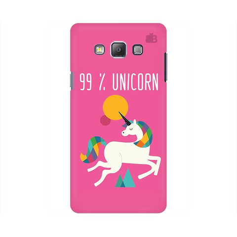 99% unicorn Samsung On 7 Cover