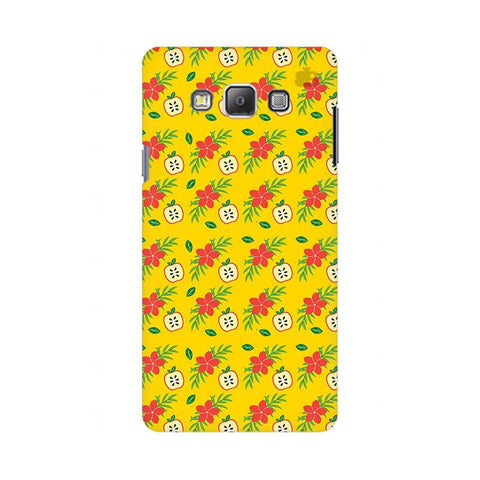 Apples & Flowers Samsung On 7 Cover