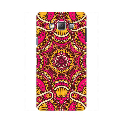 Colorful Ethnic Art Samsung On 7 Cover