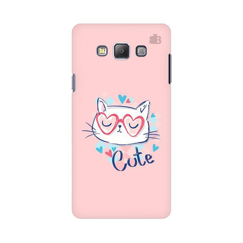 Cute Sleepy Kity Samsung On 7 Cover