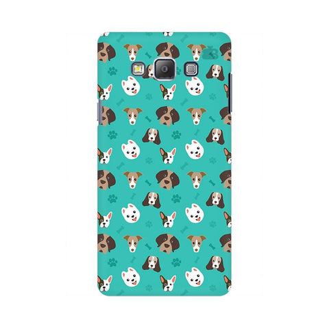 Doggie Pattern Samsung On 7 Cover