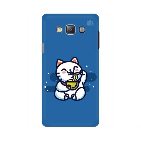 KItty eating Noodles Samsung On 7 Cover