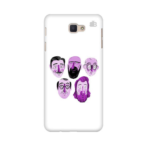 5 Bearded Faces Samsung On Nxt Cover