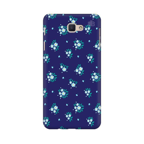 Blue Floral Pattern Samsung On Nxt Cover