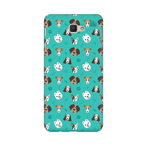 Doggie Pattern Samsung On Nxt Cover