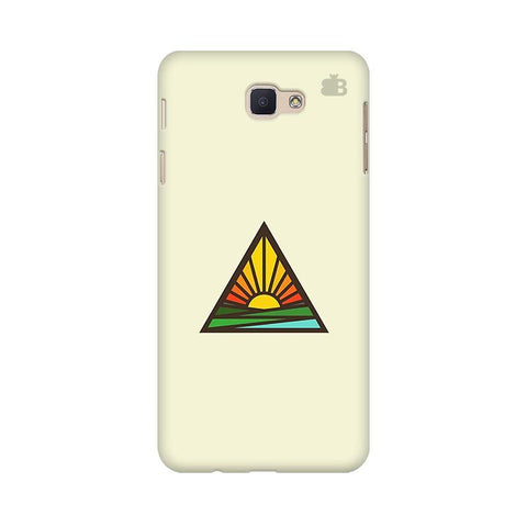Triangular Sun Samsung On Nxt Cover