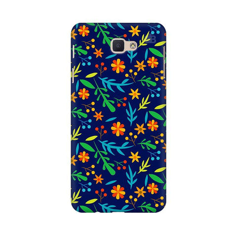 Vibrant Floral Pattern Samsung On Nxt Cover