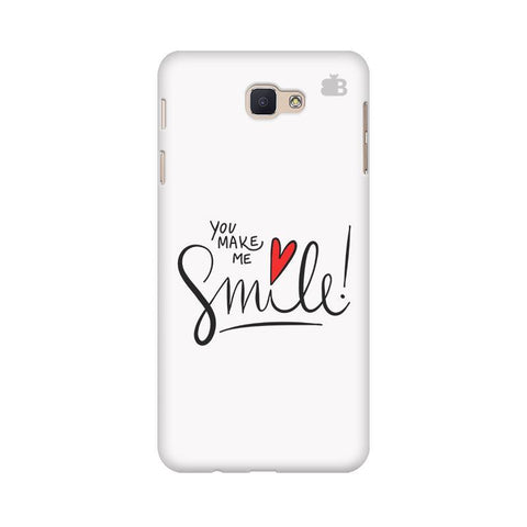 You make me Smile Samsung On Nxt Cover