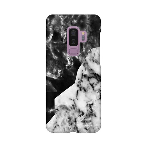 Black White Marble Samsung S9 Plus Cover