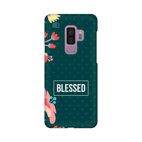 Blessed Floral Samsung S9 Plus Cover