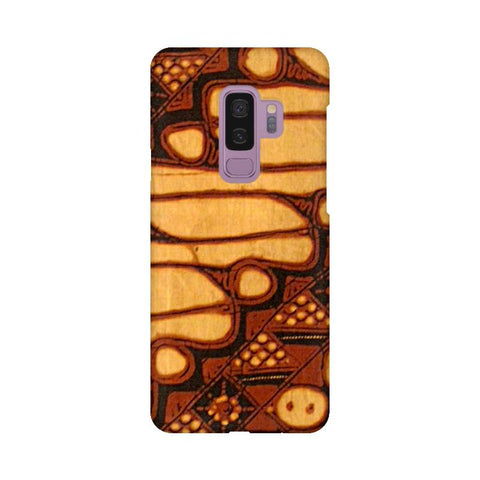 Brown Batik Samsung S9 Plus Cover
