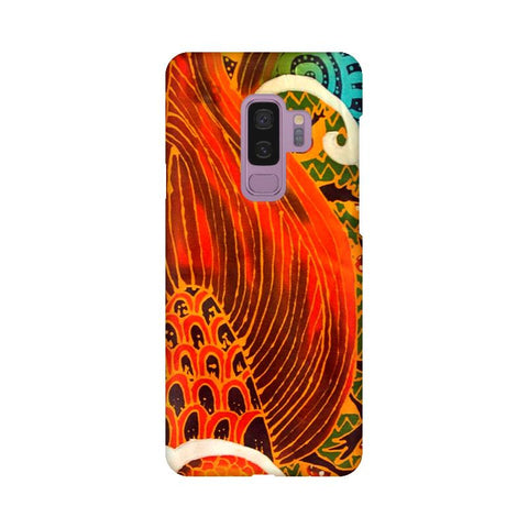 Colorful Batik Art Samsung S9 Plus Cover