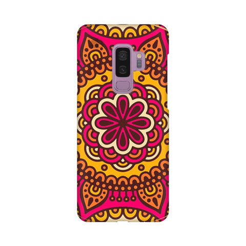Colorful Ethnic Art Samsung S9 Plus Cover