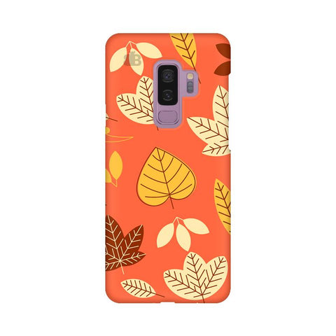 Cute Leaves Pattern Samsung S9 Plus Cover