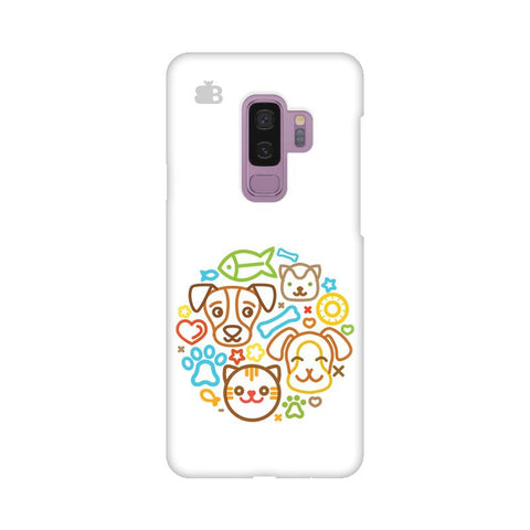 Cute Pets Samsung S9 Plus Cover