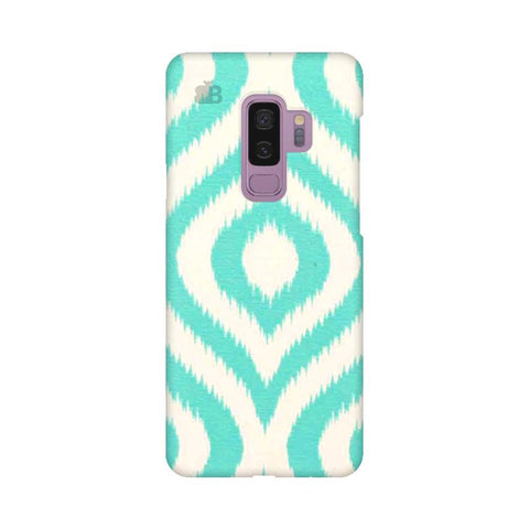 Cyan Ikat Samsung S9 Plus Cover