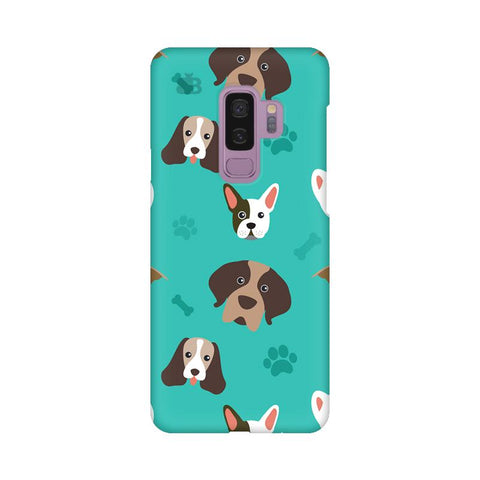 Doggie Pattern Samsung S9 Plus Cover