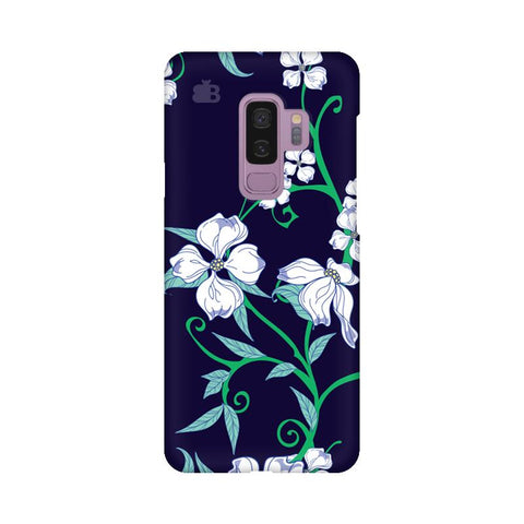 Dogwood Floral Pattern Samsung S9 Plus Cover