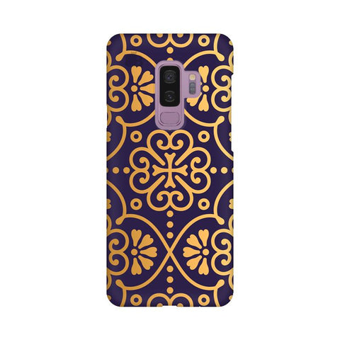 Gold Ornament Samsung S9 Plus Cover