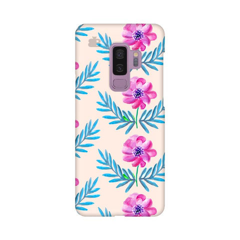 Pink Watercolor Pattern Samsung S9 Plus Cover