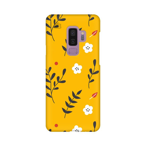 Summer Floral Pattern Samsung S9 Plus Cover