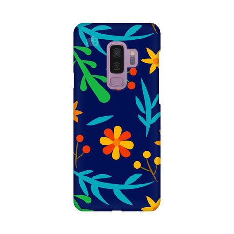 Vibrant Floral Pattern Samsung S9 Plus Cover