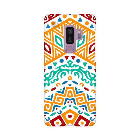 Wavy Ethnic Art Samsung S9 Plus Cover