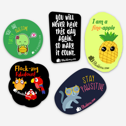 Set of 5 Stickers