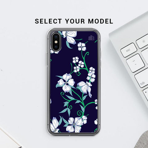 Dogwood Floral Pattern Soft Phone Cover