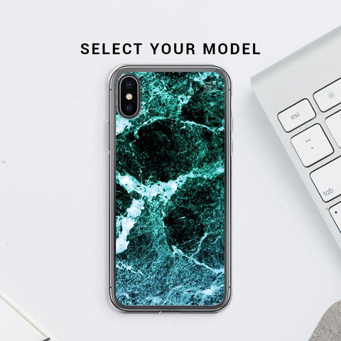 Sea Marble Soft Phone Cover
