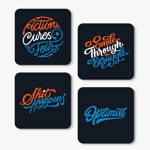 Stay Motivated Coaster