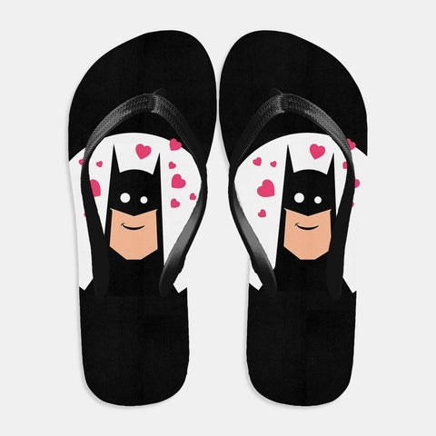 Superhero in Love Flip Flop