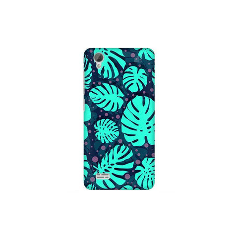 Tropical Leaves Pattern Vivo 31L Phone Cover