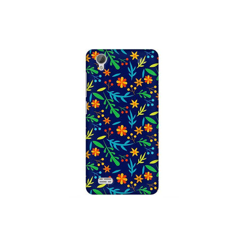 Vibrant Floral Pattern Vivo 31L Phone Cover