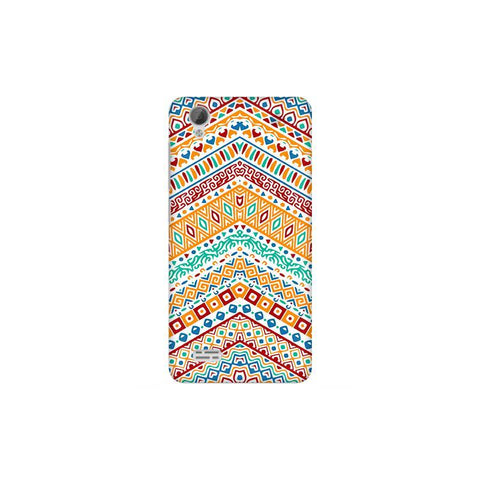Wavy Ethnic Art Vivo 31L Phone Cover