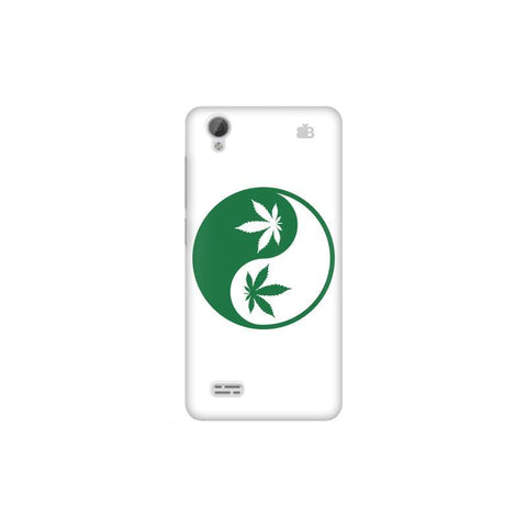 Weed Yin Yang Vivo 31L Phone Cover